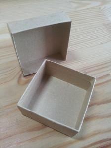 Tiny, little, easy-peasy cardboard box.