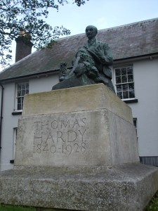 The memorial to Thomas Hardy in Dorchester. Or should I say 'Casterbridge'?