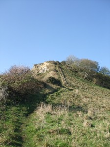 Houns-tout is - trust me - extremely steep.