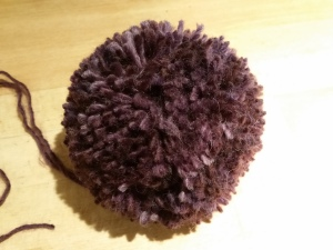 One rather substantial pompom.