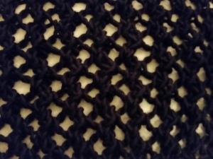 Lace-knit loveliness.