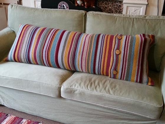 Bolster cushion cover glory.