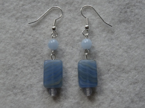 More earrings, another gift. I must be on a roll!