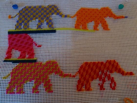 Definitely elephants, but a way to go yet.